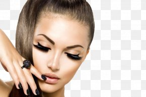 Makeup - Eyelash Extensions Model Cosmetics Hair PNG