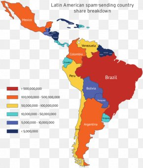 United States - Latin America South America United States Caribbean Central America PNG