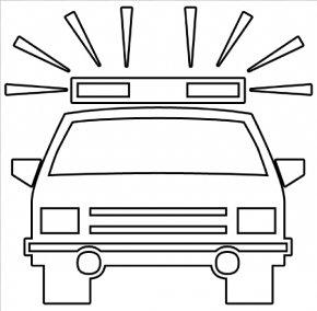 Cartoon Police Car - Police Car Police Officer Clip Art PNG