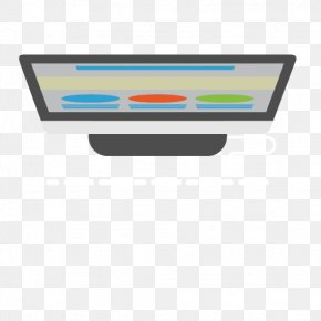 Vector Cartoon Computer Monitor - Euclidean Vector Computer File PNG