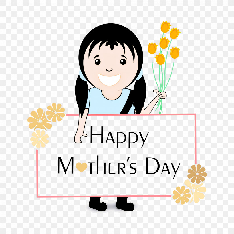 Mothers Day Happy Mothers Day, PNG, 2000x2000px, Mothers Day, Carnation, Cartoon, Drawing, Fathers Day Download Free