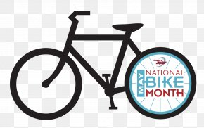 Bike - National Bike Month Bicycle Bike-to-Work Day Cycling League Of American Bicyclists PNG