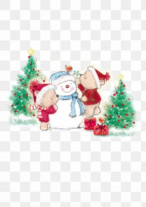 Christmas Santa Claus Free Matting Material - Santa Claus Christmas Ornament Christmas Tree PNG