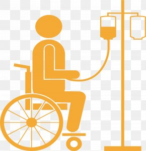 Wheelchair Hanging In A Wheelchair - Wheelchair Disability PNG
