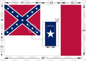 Flag - Mississippi Confederate States Of America Southern United States Battle Of Shiloh American Civil War PNG