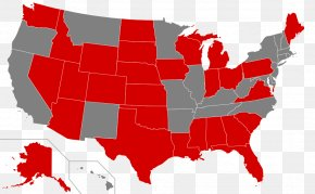United States - United States Red States And Blue States Political Party Republican Party Politics PNG