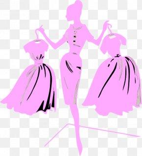 Fashion Designer Cliparts - Fashion Show Model Clip Art PNG