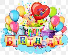 Birthday Greeting Card - Birthday Cake Happy Birthday To You Clip Art PNG