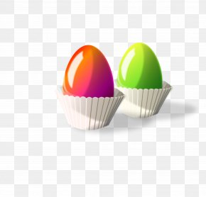 Eggs - Muffin Cupcake Easter Egg Clip Art PNG