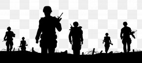 Black Soldier Silhouette - Soldier Euclidean Vector Stock Photography Illustration PNG