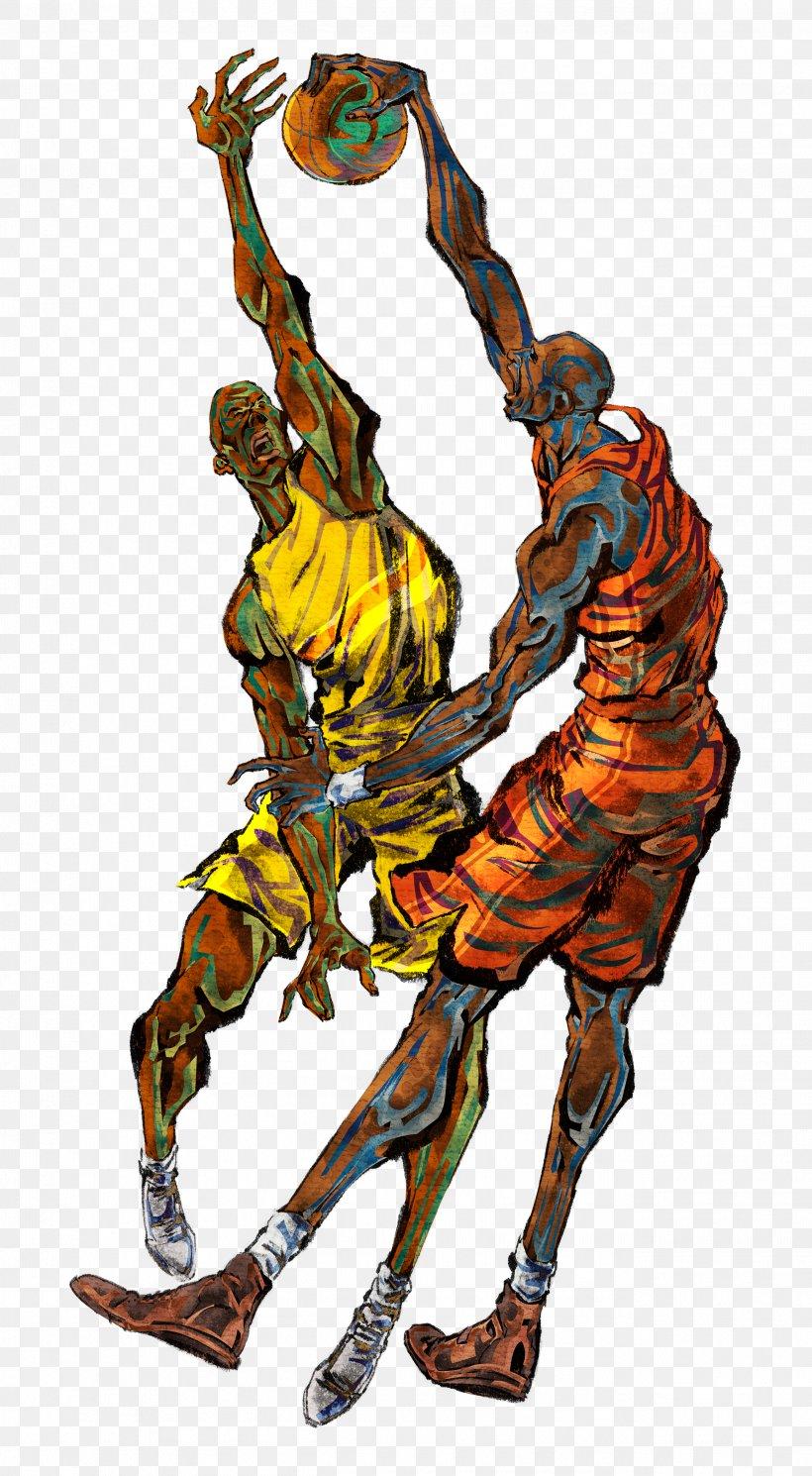 Basketball Player Sport Mural Wallpaper, PNG, 2599x4725px, Basketball, Art, Athlete, Badminton, Ball Download Free