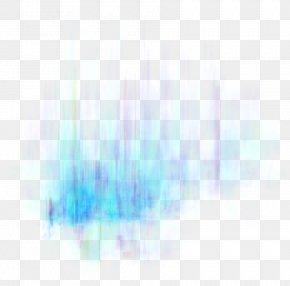 Blue Fade Light Effect Element - Sunlight Sky Atmosphere Of Earth Wallpaper PNG