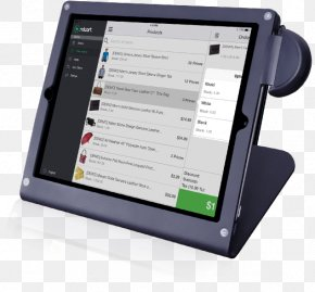 Point Of Sale - Tablet Computers Point Of Sale Handheld Devices Sales Computer Software PNG