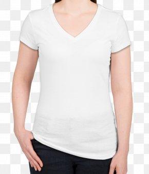 T-shirt - T-shirt Sleeve Neckline Dress Shirt PNG