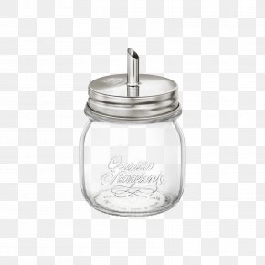 Glass - Sugar Bowl Stainless Steel Glass Lid Milliliter PNG