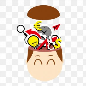 Strongest Brain - Brain Thought Clip Art PNG