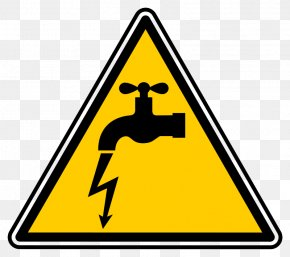 Water Faucet Clipart - Electricity Electrical Injury Leakage Clip Art PNG