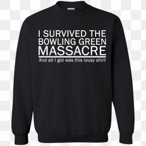 T-shirt - T-shirt Sleeve Hoodie Sweater Crew Neck PNG