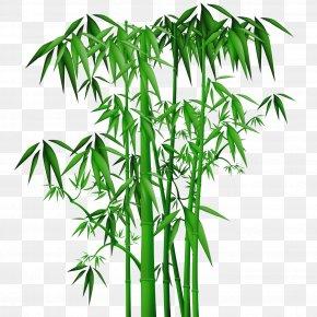 Bamboo - Ink Wash Painting Bamboo Shan Shui Chinese Painting PNG