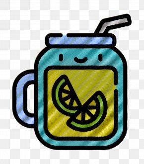 Symbol Yellow - Tropical Icon Summer Icon Iced Tea Icon PNG