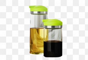 Oil Containing Oil In The Kitchen - Cooking Oil Bottle Download PNG