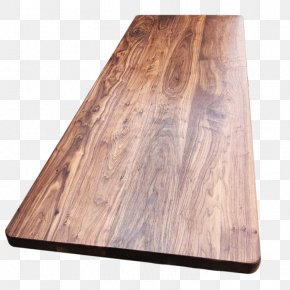 Black Walnut Tabletop - Eastern Black Walnut Wood Desktop Environment PNG