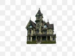 Real Creative Dark Castle - DeviantArt Mansion PNG