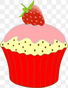 Cupcake Graphics Clipart - Cupcake Birthday Cake Clip Art PNG