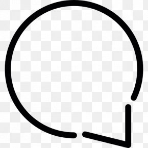 Simple Dialogue Bubble - Speech Balloon Bubble Clip Art PNG