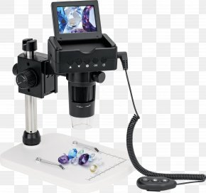 Microscope - Digital Microscope USB Microscope Eyepiece Magnification PNG