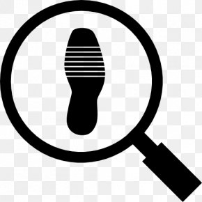 Magnifying Glass - Magnifying Glass Footprint Magnifier PNG