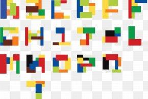26 Letters - Lettering Alphabet LEGO Font PNG