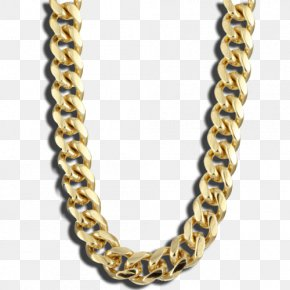 Gold Chain Transparent Mine Gold Chain - Roblox T-shirt Hoodie Chain Necklace PNG