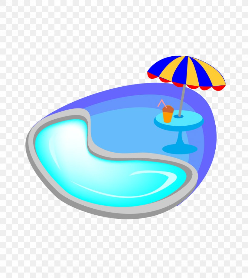 Swimming Pool Cartoon, PNG, 851x953px, Swimming Pool, Aqua, Area, Blue, Cartoon Download Free