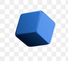 Blue Cube - Blue Rubiks Cube PNG