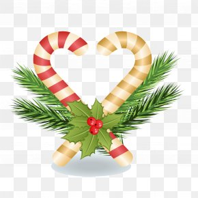 Creative Christmas - Christmas Ornament Candy Cane Christmas Decoration PNG