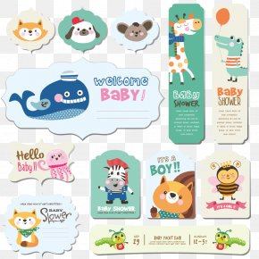 Vector Animal Small Labels - Animal Clip Art PNG