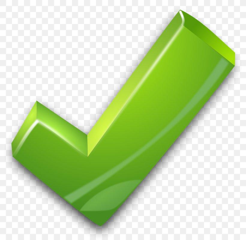 Check Mark Green Clip Art, PNG, 800x800px, Check Mark, Button, Checkbox, Grass, Green Download Free
