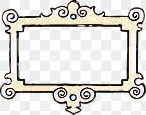 Rectangle Black - Black And White Frame PNG