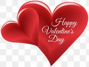 Happy Valentine's Day Hearts PNG Clip Art Image - Valentine's Day Heart Friendship Day Clip Art PNG
