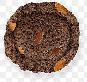 Chocolate Almond - Chocolate Praline Milk Ice Cream Baskin-Robbins PNG