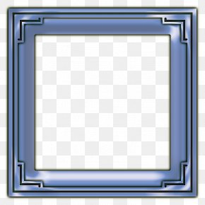Square Frame Transparent Background - Picture Frame PNG