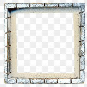 Rectangle Picture Frame - Spring Flowers Frame PNG