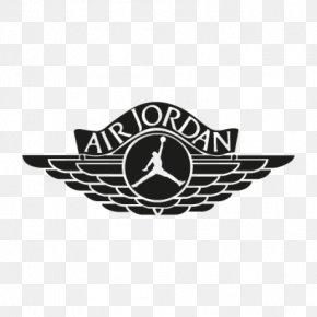 Jordan 4 Cliparts - Jumpman Air Jordan Logo Shoe PNG