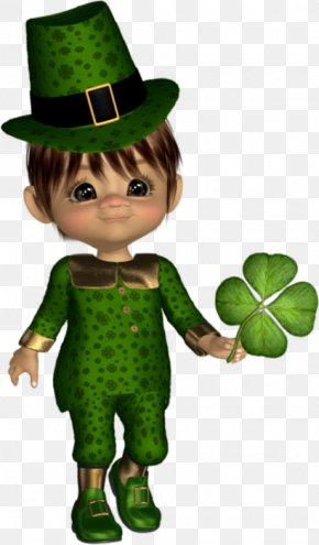 Saint Patrick's Day - Saint Patrick's Day Leprechaun 17 March Clip Art PNG