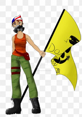 Bab Illustration - Yellow Character Costume Fiction PNG