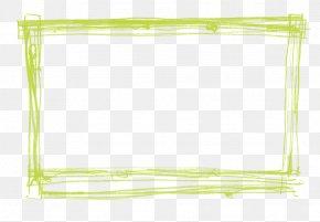 Green Border Frame Transparent - Green Pattern PNG