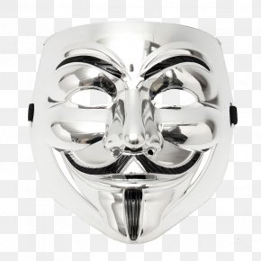 Mask Batman - V For Vendetta Guy Fawkes Mask Costume PNG