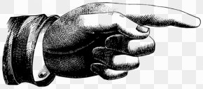 Hand Graphics - Index Finger Pointing Clip Art PNG