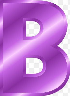 Letter B - Alphabet Letter Clip Art PNG